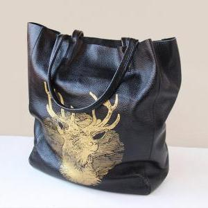 Handmade Women's Leather Bag / Leat..